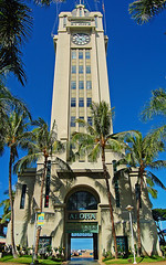 Aloha Tower (jcc55883) Tags: hawaii nikon oahu honolulu fortstreet alohatower bishopstreet alohatowermarketplace nikond40 nimitzhighway