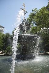 Fountain of Joy (Roblawol) Tags: park newyorkcity newyork water fountain spring cityhall manhattan may cityhallpark thebigapple 2011