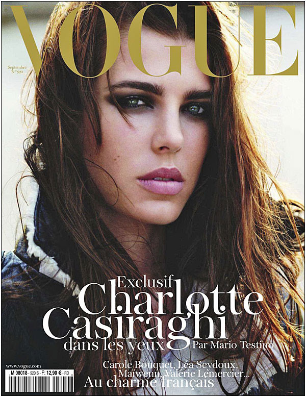 Vogue Paris September 2011 Charlotte Casiraghi