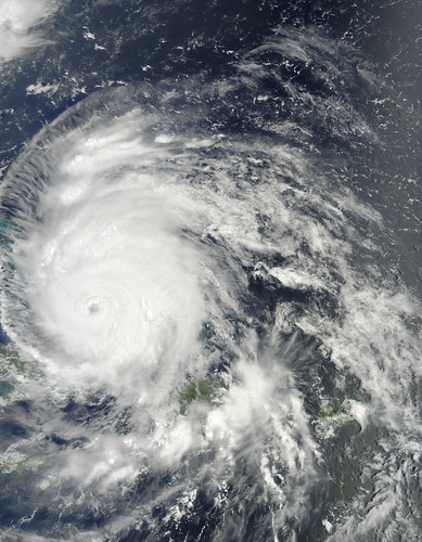 Hurricane Irene Captured August 24, 2011