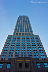 Empire State Building (bartholowaty | Photography) Tags: new city nyc travel summer usa holiday ny newyork tourism apple architecture america canon us downtown cityscape view shot manhattan united n landmark empire metropolitan 2011 60d