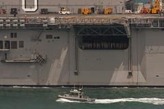 USS Makin Island (Hawkeye2011) Tags: california usa boats marine sandiego military ships maritime naval saltwater ussmakinisland waspclass