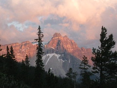 Yoho Sunset (Plant Design Online) Tags: light sunset canada mountains landscape day cloudy yoho