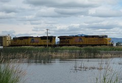 Hot Lake Springs, OR 0910a (DB's travels) Tags: railroad up oregon unionpacific july11 hotlakesprings tempcrr