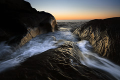 . (Dan. D.) Tags: ocean sunset seascape canada water rock canon landscape quebec 5d madeleine ilesdelamadeleine mkii sunraise iles 1635mm