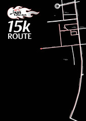 Adobo Run 2011 15k route