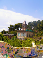 Park Gell (Grigory A) Tags: barcelona spain view catalonia gaud gell