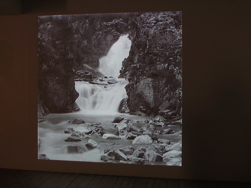 Nina Torp: Memoirs of A Tourist. Waterfall #1. Cascade de Barberine