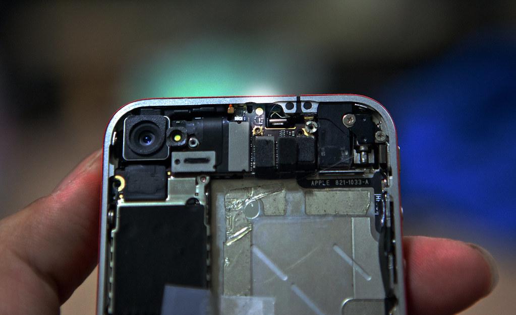 iPhone4 拆機過後的 Wifi 收訊問題提醒 @3C 達人廖阿輝