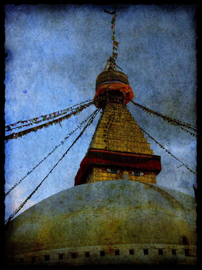 Сваямбунатх. Непал 2008 - Катманду, Пашупатинатх, Покхара, Боднатх, Горкха © Kartzon Dream - авторские путешествия