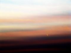 087   365  August 24, 2011 (Sarah Elizabeth Altendorf) Tags: sunset plane airplane glow stripes jet 087365 project36612011 3652011 august242011