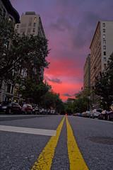 Calm after the storm (blkahn) Tags: street nyc sunset manhattan hurricane irene gothamist gotham prewar prewarbuilding manhattansunset hurricaneirene