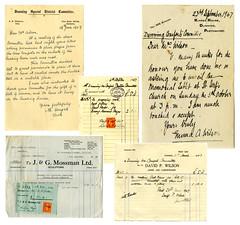 Dunning War Comforts,1947 (P&KC Archive) Tags: heritage scotland memorial perthshire ww2 20thcentury burgh dunning historicaldocuments ecsochistory