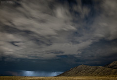 Evening thunderstorms (kit) Tags: longexposure storm mountains newmexico rain night clouds albuquerque thunderstorm lightning aaw activeassignmentweekly kitsweeney
