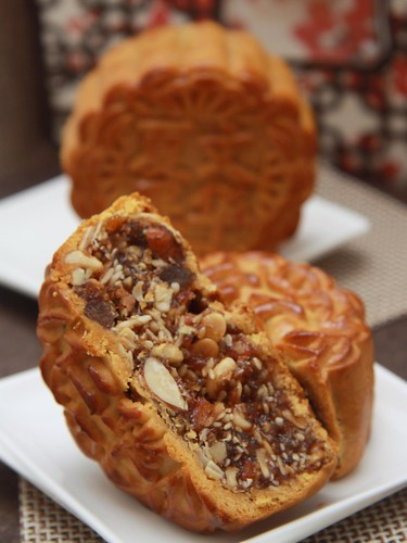 Mandarin Orchard's signature Five Kernel (五仁) mooncake