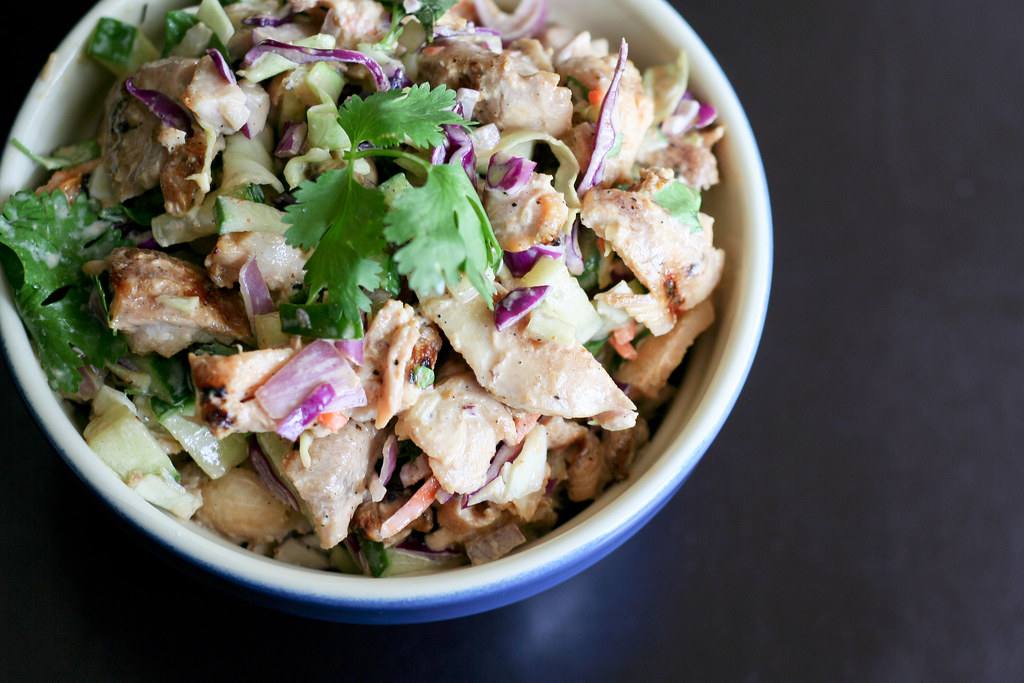 Thai-style Chicken Salad