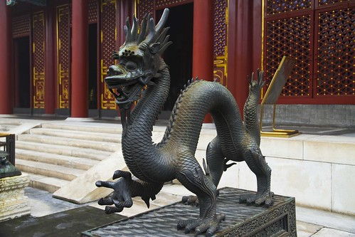 Dragon in Summer Palace