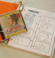 chopin disc and notebook timeline