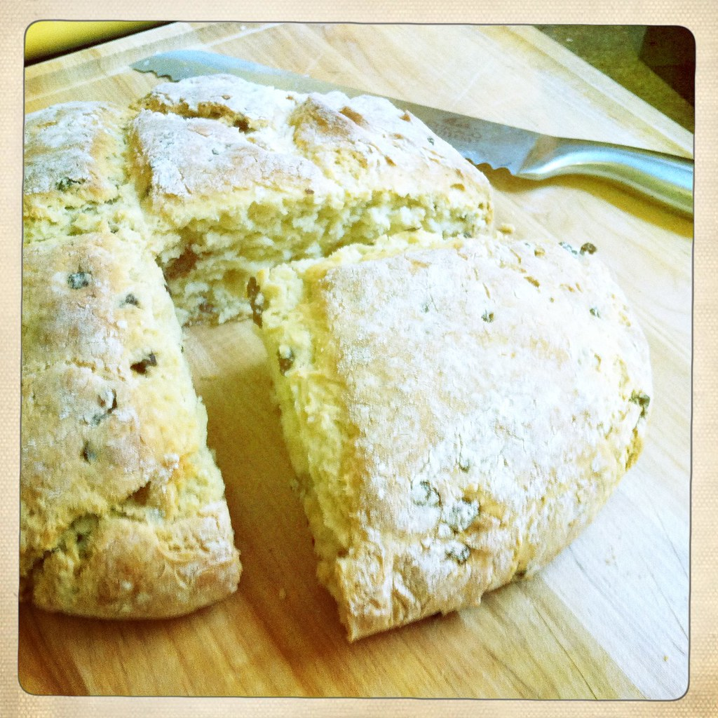 Currant Soda Bread