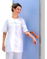 Utilisable sans les mains (Ulna system) Tags: les de porte mains sans contamination poigne hygine