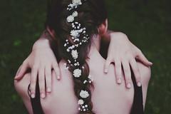 hidden garden [+2] (ClaraNebeling) Tags: flowers back braid