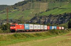 152 103 Himmelstadt 17.08.2011 (hansvogel51) Tags: germany private deutschland siemens eisenbahn himmelstadt eisenbahnen br152 eurosprinter eloks es64f