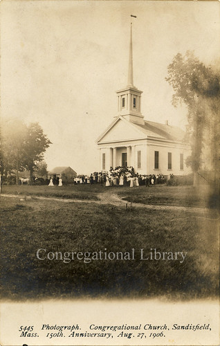 Sandisfield, MA : First Congregational Church.