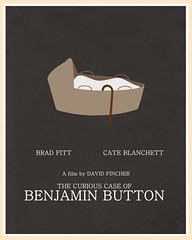 The Curious Case of Benjamin Button (2008) (Jon Glanville) Tags: walkingstick bradpitt cateblanchett davidfincher babybasket thecuriouscaseofbenjaminbutton benjaminbutton minimalistposter minimalistfilmposter