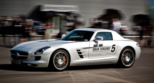 SLS AMG with GT5 branding 2