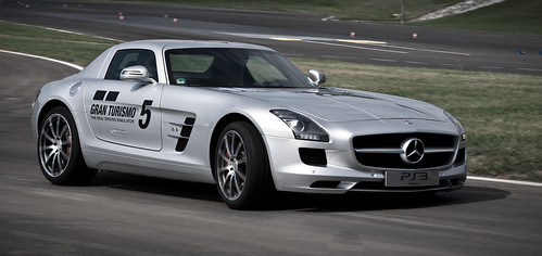 SLS AMG with GT5 branding 3