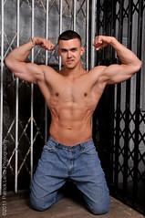 Adam Rose (shoot 2) 174 (Violentz) Tags: portrait man male guy adam model elevator bodybuilder adamrose