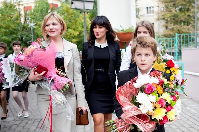 сын и дочь Тины Канделаки