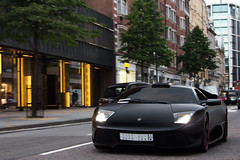 Devastation. (Alex Penfold) Tags: auto street camera summer black london cars alex sports car sport mobile canon 40th photography eos photo cool flickr image anniversary awesome flash picture super spot special exotic photograph arab spotted hyper custom limited edition lamborghini supercar spotting kinda matte numberplate exotica sportscar ruined sportscars supercars murcielago ksa hamann penfold 640 tuned sloane spotter 2011 lp640 hypercar 60d hypercars alexpenfold