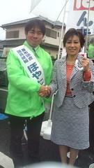 2011/5/29 保谷武と佐藤ゆかり参議院議員