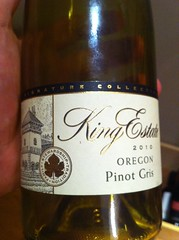2010 King Estate Pinot Gris