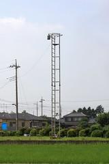 山ヶ谷戸の火の見櫓(川島町)