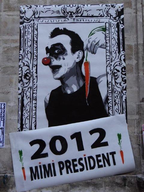 Elections présidentielles 2012 : Mimi President.