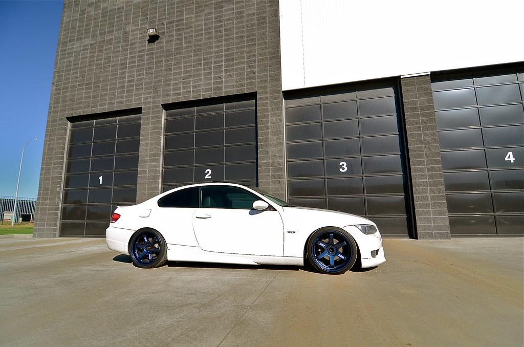 My Dream Mag Blue Volk Te37 S On My E92