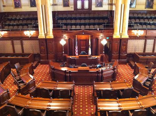 IL Senate Chambers