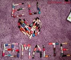 Eu ♥ Esmalte (brunajust) Tags: unhas unha coleção esmaltes esmalte