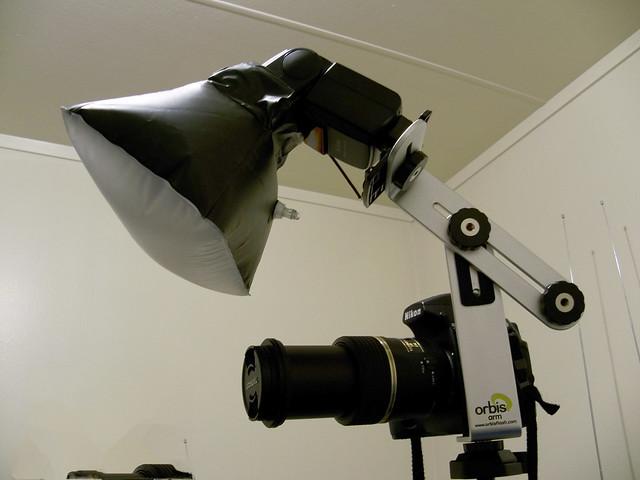 Lighting setup for macro 2