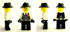 BrickWarriors Fedora views (MandaBW) Tags: gangster lego fedora minifig custom brickwarriors