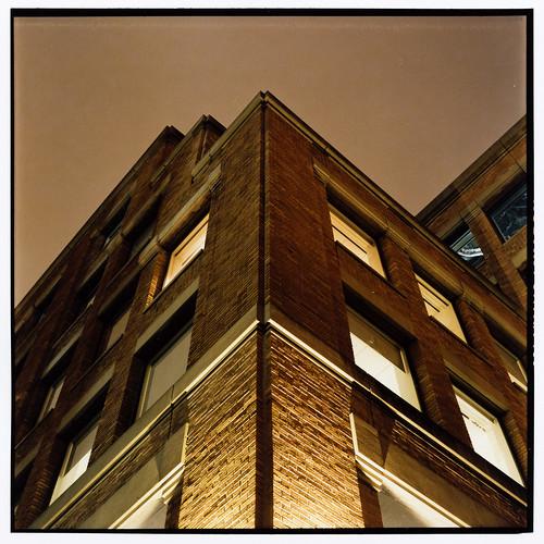 brick at night