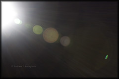 The Planets Aligned in a Ray of Light (Loops666) Tags: light sun black darkness bokeh circles balls rays