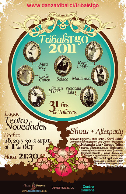 TRIBAL STGO 2011: 31 hrs de Talleres + Show + Afterparty