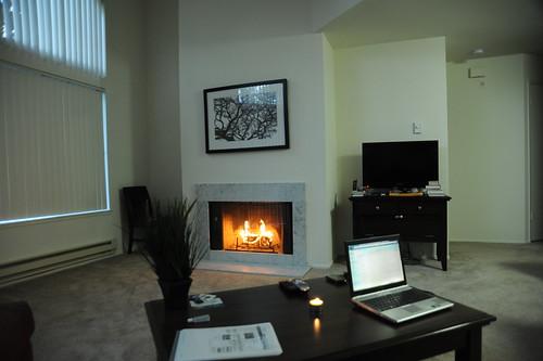 暖炉(Duraflame使用)