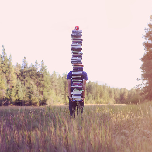 A Stack Of Books Meant To Be Read Aloud by Boy_Wonder