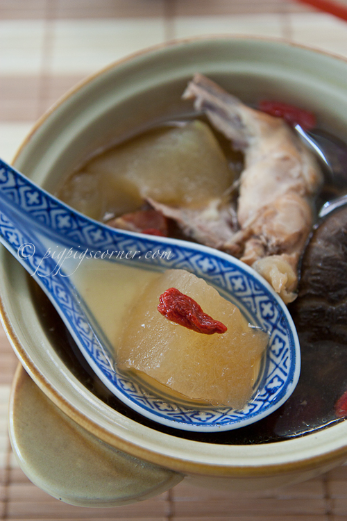 Winter Melon Soup 冬瓜汤