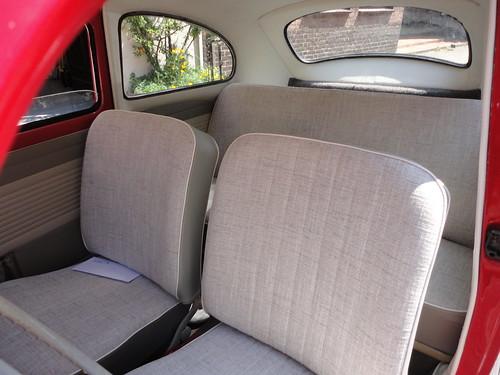 Interieur restauratie Volkswagen Kever 1960 | Dominique Scholtes
