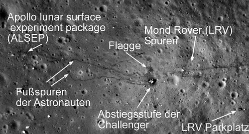 Apollo 17 LRO